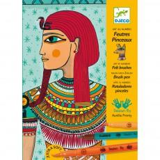 Coloriage - Art egyptien