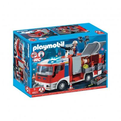 playmobil 4821 fourgon d 39 intervention de pompiers moins cher police et pompiers playmobil. Black Bedroom Furniture Sets. Home Design Ideas