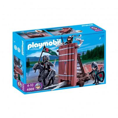 Playmobil 4869 chariot d 39 assaut des chevaliers du faucon for Playmobil 4865 prix
