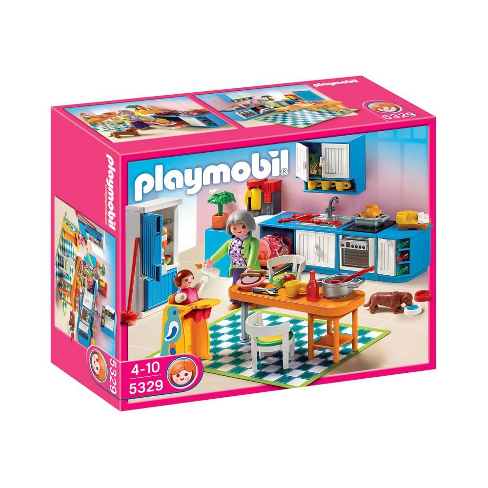 Cuisine r playmobil jeux jouets loisirs enfant - Cuisine playmobil 5329 ...
