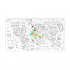Coloriage géant Atlas