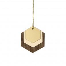 Décoration bois Hexagone