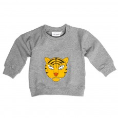 Sweat Tigre Gris