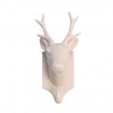 Trophée cerf en céramique