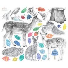 Stickers Créatures de la Forêt
