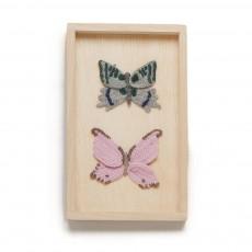 Cadre Papillons x 2