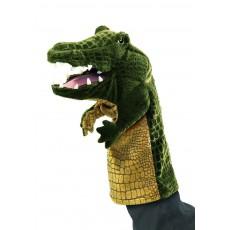 Marionnette crocodile Vert