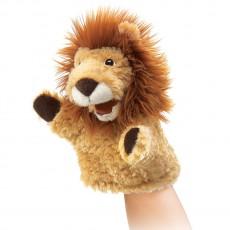 Marionnette lion Beige
