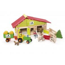 Ma ferme et son tracteur