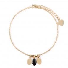 Bracelet Plumette Noir