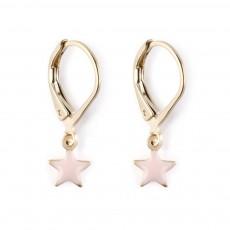 Boucles d'oreilles Star Rose