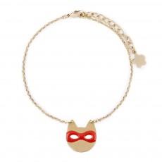 Bracelet Chat Rose