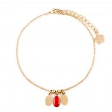 Bracelet Plumette Rose