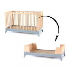 Kit évolutif pour lit bébé - Gris