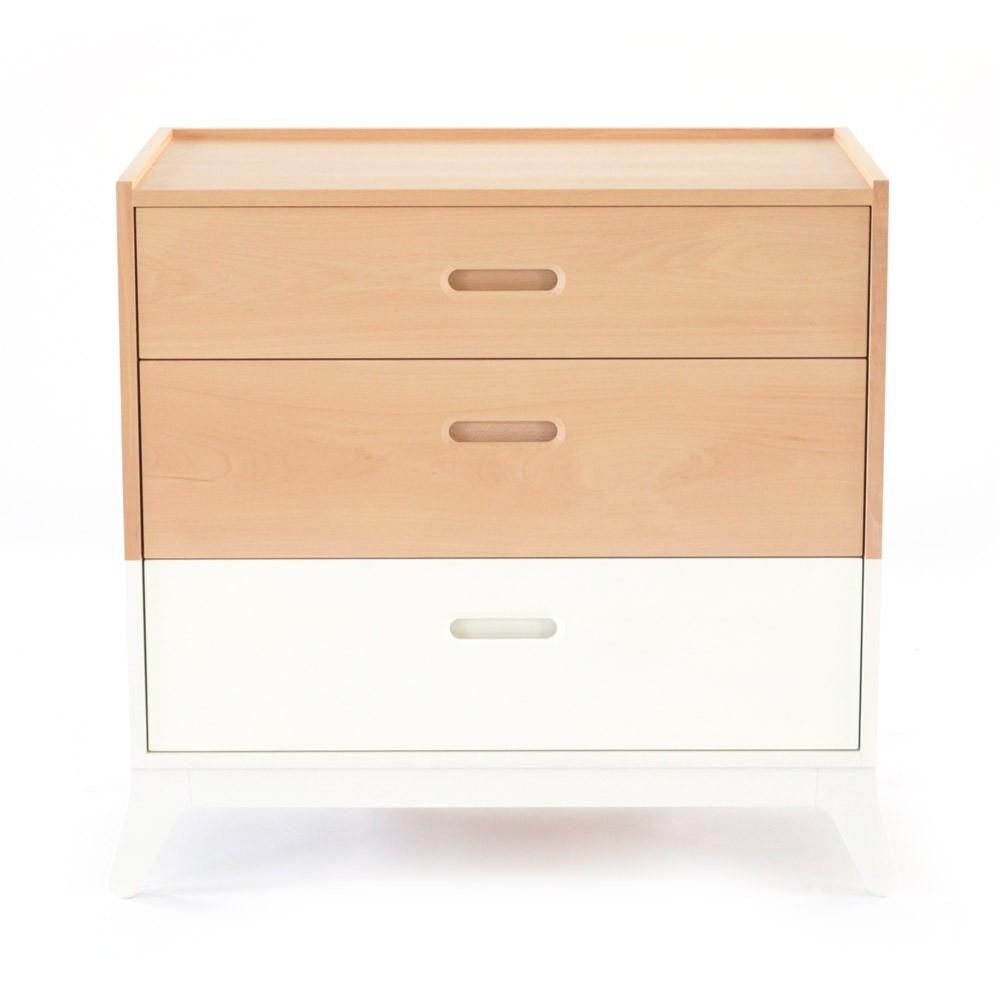 Commode 3 tiroirs blanc nobodinoz mobilier smallable - Commode 3 tiroirs blanc ...