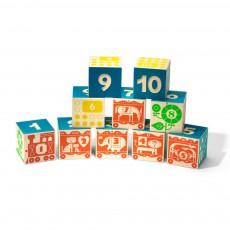Cubes Compter et Empiler Multicolore