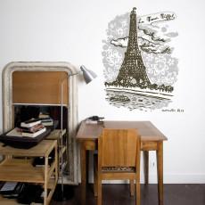 Sticker La tour Eiffel - Nathalie Lété