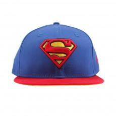 Casquette Snapback Ajustable Superman Bleu