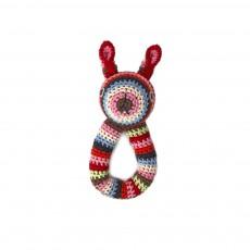 Hochet lapin  Multicolore