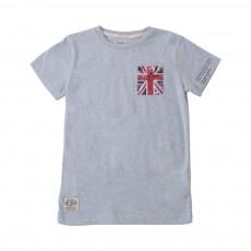 T-shirt DY Bleu indigo
