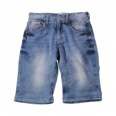 Bermuda Molleton Denim Jaggers Bleu jean