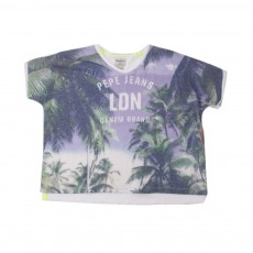 T-shirt Francesca Bleu