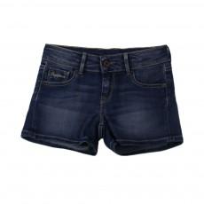 Short Denim Foxtail Bleu jean