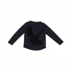 T-shirt Aigle George Bleu marine