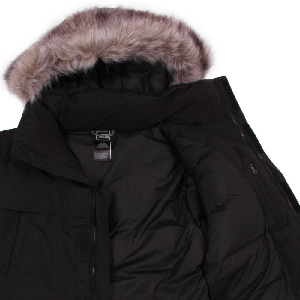 parka capuche fa on fourrure mcmurdo noir the north face mode enfant smallable. Black Bedroom Furniture Sets. Home Design Ideas