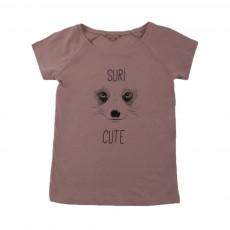 T-shirt Suricute Vieux Rose