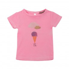T-shirt Glace Summer Is Magic Rose bonbon
