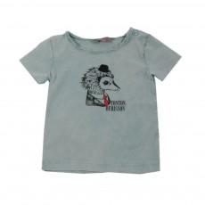T-shirt Tonton Hérisson Bleu