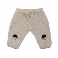 Pantalon Dandy Ecru chiné