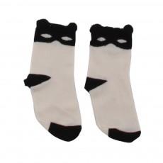 Chaussettes Catmask Ecru