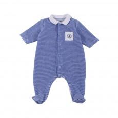 Pyjama Pieds Mado Bleu