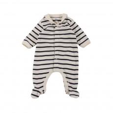 Pyjama Pieds Mally Blanc