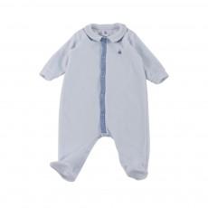 Pyjama Pieds BV Marcio Bleu pâle