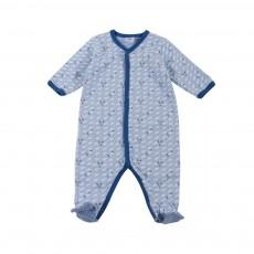 Pyjama Pieds Fusée Marengo Bleu