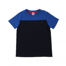 T-shirt Mercier Bleu marine