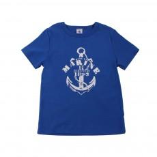 T-Shirt Marine Bleu