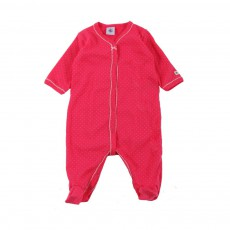 Pyjama Pieds Pois Columbia Manager Rose