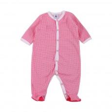 Pyjama Pieds Roman Marceau Blanc