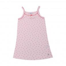 Chemise de nuit fines bretelles Marcotte Rose pâle