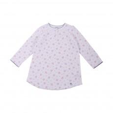 Pyjama Fleurs Margaret Blanc