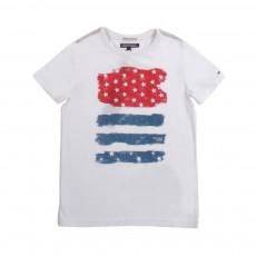 T-Shirt Flag Blanc