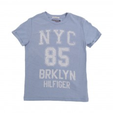 T-Shirt Brooklyn Bleu