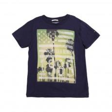 T-Shirt Photos 3 Bleu nuit