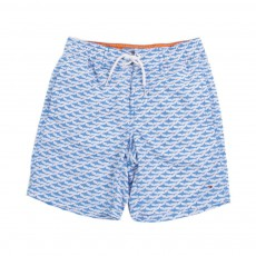 Short de Bain Shark Bleu
