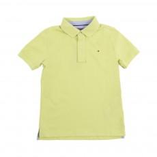 Polo Logo Jaune citron