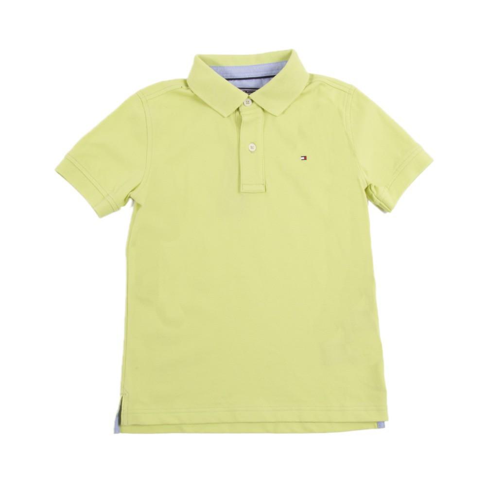Yellow Polo Logo Logo Polo Shirt Lemon Yellow